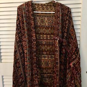 Free People Woven Kimono
